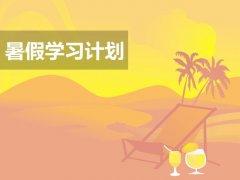 准初三学生暑假学习计划_初二升初三暑假计划指导