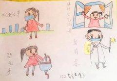 小学生如何制作抗击疫情小报_抗疫手抄报模板